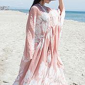 Одежда handmade. Livemaster - original item Delicate chiffon pareo, Maxi length - KA0602CH. Handmade.