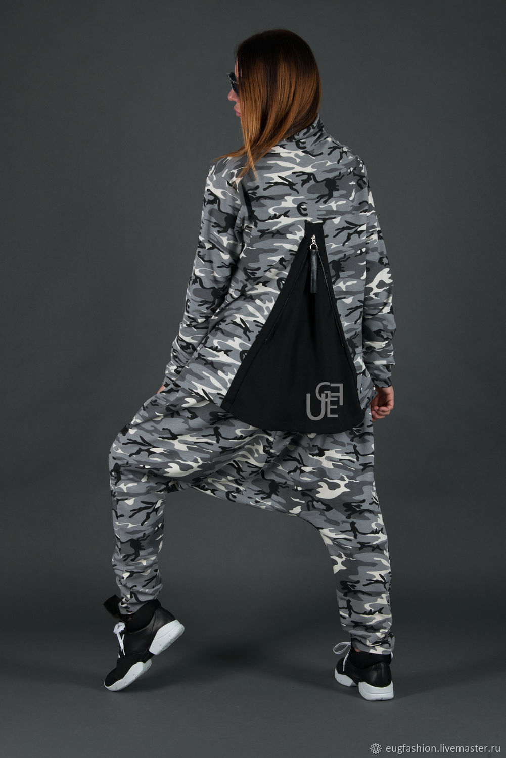 Sports suit, Camo suit made of cotton - SE0692W2, Tracksuits, Sofia,  Фото №1