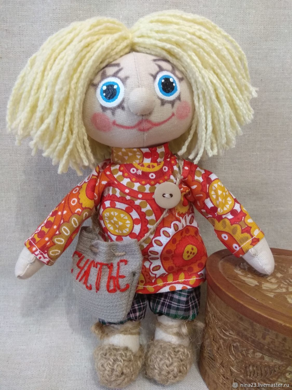 Кукла Домовенок Кузя, Народная кукла, Нижний Новгород,  Фото №1
