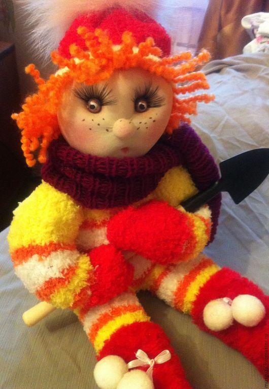"""Человечки ручной работы. Ярмарка Мастеров - ручная работа. Купить Кукла для девочки """"Капуша Валюшка"""". Handmade. Комбинированный, мягкая кукла"""