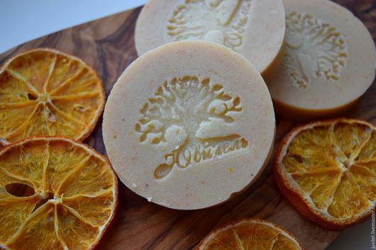 """Мыло ручной работы. Ярмарка Мастеров - ручная работа. Купить """"Апельсиновый кекс"""" мыло по старинным рецептам. Handmade. Цитрус"""