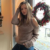 Одежда handmade. Livemaster - original item Sweater women knitted. Handmade.