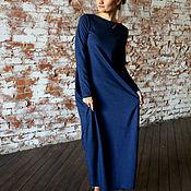 Одежда ручной работы. Ярмарка Мастеров - ручная работа Платье ASYMMETRIC JEANS. Handmade.