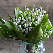 Цветы и флористика handmade. Livemaster - original item lily of polymer clay.. Handmade.