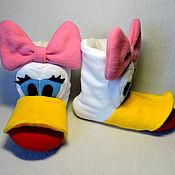 Обувь ручной работы handmade. Livemaster - original item Slippers Ponochka. Handmade.