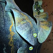 Одежда ручной работы. Ярмарка Мастеров - ручная работа Жилет Ундина. Handmade.