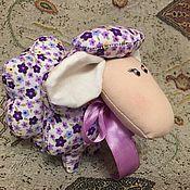 Куклы и игрушки ручной работы. Ярмарка Мастеров - ручная работа Очаровательный текстильный барашек. Handmade.