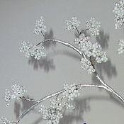 Цветы и флористика ручной работы. Ярмарка Мастеров - ручная работа Ночник (цветочная композиция). Handmade.