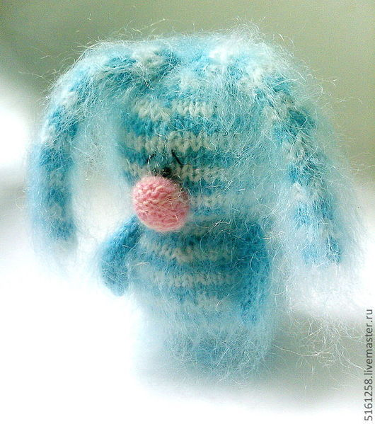 Игрушки животные, ручной работы. Ярмарка Мастеров - ручная работа. Купить Самый грустный в мире Зайка. ( Вязаные игрушки зайцы ). Handmade.