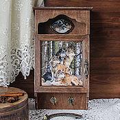 Для дома и интерьера handmade. Livemaster - original item The housekeeper with door