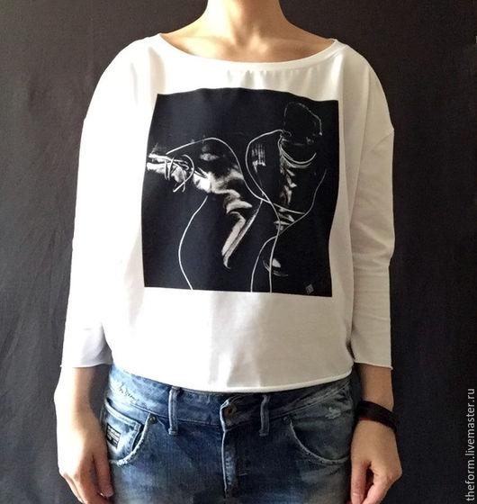 """Купить женская футболка с принтом """"сапоги"""" - футболка ... - photo#45"""