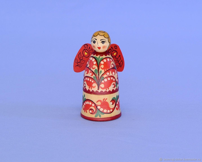 Ангелочек Сувенирный (Пучужская роспись), Пасхальные сувениры, Северодвинск,  Фото №1
