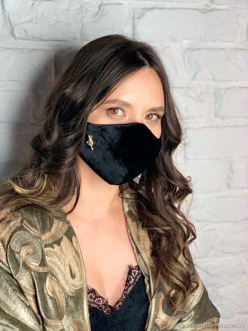 VELVET designer mask, Protective masks, Nizhny Novgorod,  Фото №1