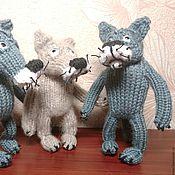 Подарки к праздникам ручной работы. Ярмарка Мастеров - ручная работа Волк. Handmade.