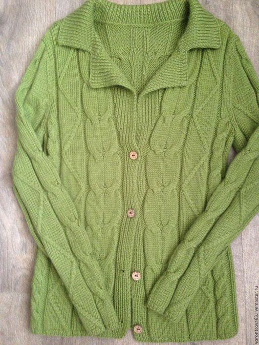 Кофты и свитера ручной работы. Ярмарка Мастеров - ручная работа. Купить Женский кардиган ручной вязки для любого возраста. Handmade.