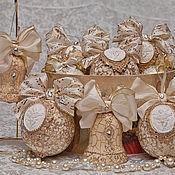 "Подарки к праздникам ручной работы. Ярмарка Мастеров - ручная работа Набор ""Царская елка"". Handmade."