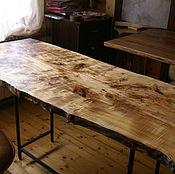 Для дома и интерьера ручной работы. Ярмарка Мастеров - ручная работа Стол из массива тополя. Handmade.