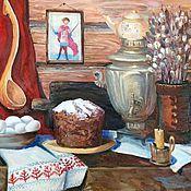 Картины и панно handmade. Livemaster - original item Painting Easter still life. Handmade.