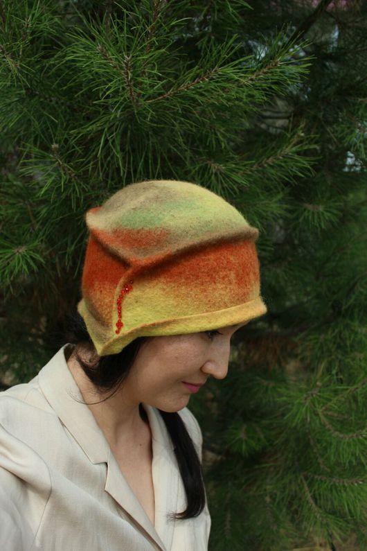 Шляпы ручной работы. Ярмарка Мастеров - ручная работа. Купить О чем молчит осень. Handmade. Шляпы для женщин, hat