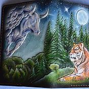 Канцелярские товары handmade. Livemaster - original item Cover for zodiac documents. Handmade.