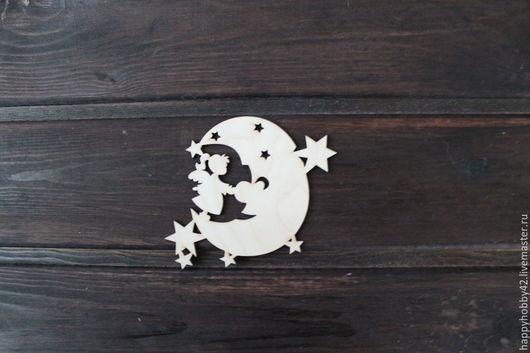 """Декупаж и роспись ручной работы. Ярмарка Мастеров - ручная работа. Купить Игрушка """"Фея луны"""" заготовка. Handmade. Белый"""