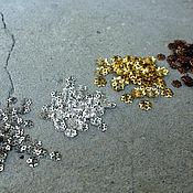 Материалы для творчества handmade. Livemaster - original item Crowns for beads in the range of 10 PCs. Handmade.