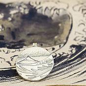 Украшения ручной работы. Ярмарка Мастеров - ручная работа Кулон Фудзи и волны. Handmade.
