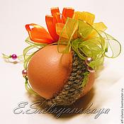 Подарки к праздникам ручной работы. Ярмарка Мастеров - ручная работа Букет маргариток (украшение для пасхального яйца). Handmade.