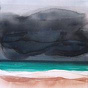 Картины и панно handmade. Livemaster - original item Painting painting sea beach