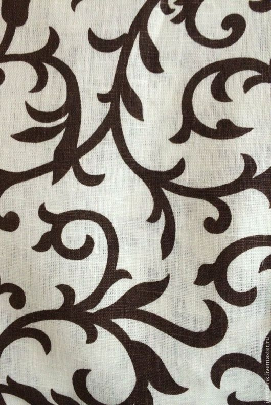 Текстиль, ковры ручной работы. Ярмарка Мастеров - ручная работа. Купить Лен декоративный для скатертей для занавесей. Handmade. Лен