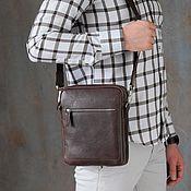 Сумки и аксессуары handmade. Livemaster - original item Men`s crossbody bag