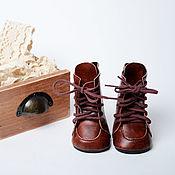 Куклы и игрушки handmade. Livemaster - original item Clothes for dolls: Boots 7 cm. Handmade.