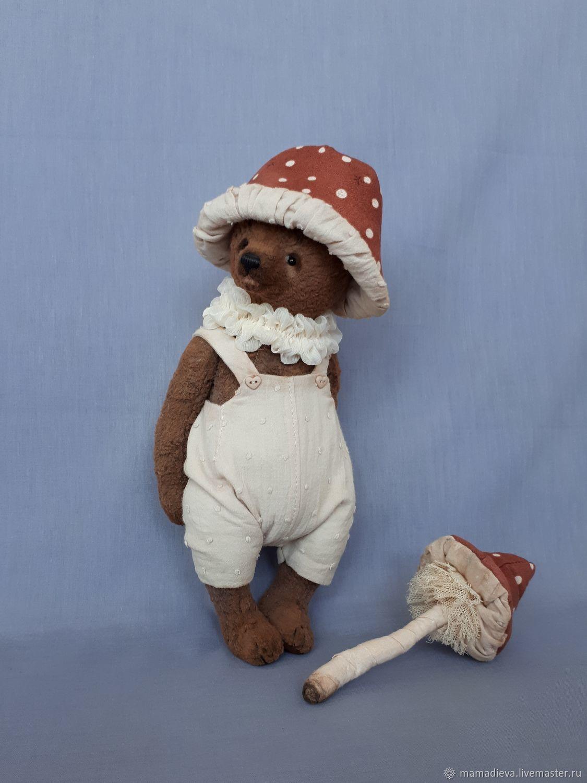 Bear Rudy, Teddy Bears, Astrakhan,  Фото №1