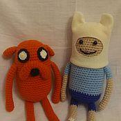 Куклы и игрушки ручной работы. Ярмарка Мастеров - ручная работа Джэйк и Финн. Handmade.