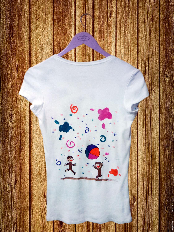 Как сделать футболку с рисунком 55
