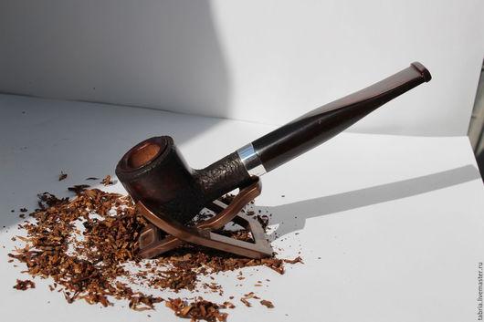 Подарки для мужчин, ручной работы. Ярмарка Мастеров - ручная работа. Купить трубка из турецкого бриара, серебра и кумберленда. Handmade. бриар