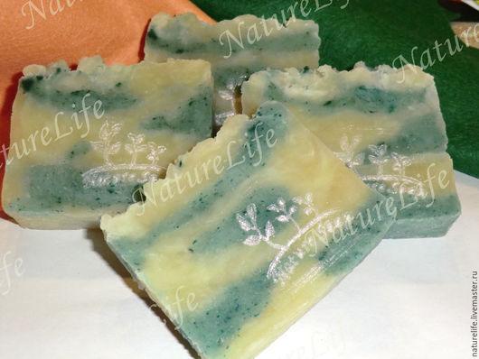 """Мыло ручной работы. Ярмарка Мастеров - ручная работа. Купить Натуральное мыло """"Эвкалипт и чайное дерево"""". Handmade. Натуральное мыло"""