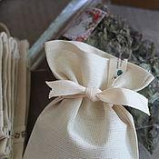Для дома и интерьера ручной работы. Ярмарка Мастеров - ручная работа Мешочки для травяного чая. Handmade.