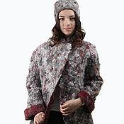 "Одежда handmade. Livemaster - original item Pea jacket felt ""All` ultima moda"". For example.. Handmade."