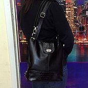 Сумки и аксессуары handmade. Livemaster - original item Backpack leather 146. Handmade.