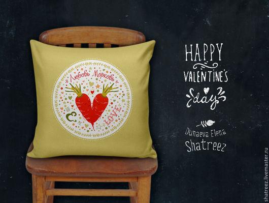shatreez|dunaevaelena подушки с авторским принтом