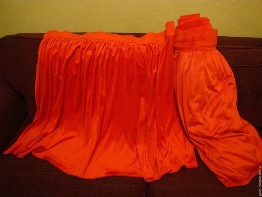 Другие виды рукоделия ручной работы. Ярмарка Мастеров - ручная работа. Купить Красный бархат рулон 5 метров. Handmade.