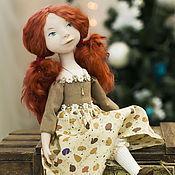 """Куклы и игрушки ручной работы. Ярмарка Мастеров - ручная работа Авторская кукла """"Веселые веснушки"""" (la-la-kukla). Handmade."""