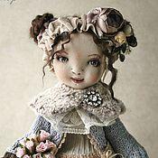 Куклы и игрушки ручной работы. Ярмарка Мастеров - ручная работа Текстильная коллекционная кукла Грейс. Бохо стиль.. Handmade.