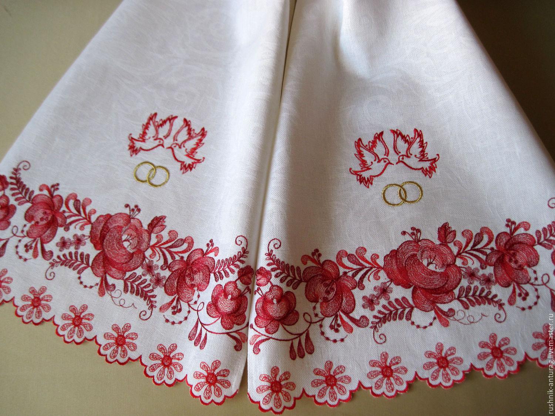 Рушник для каравая на свадьбу своими руками 63