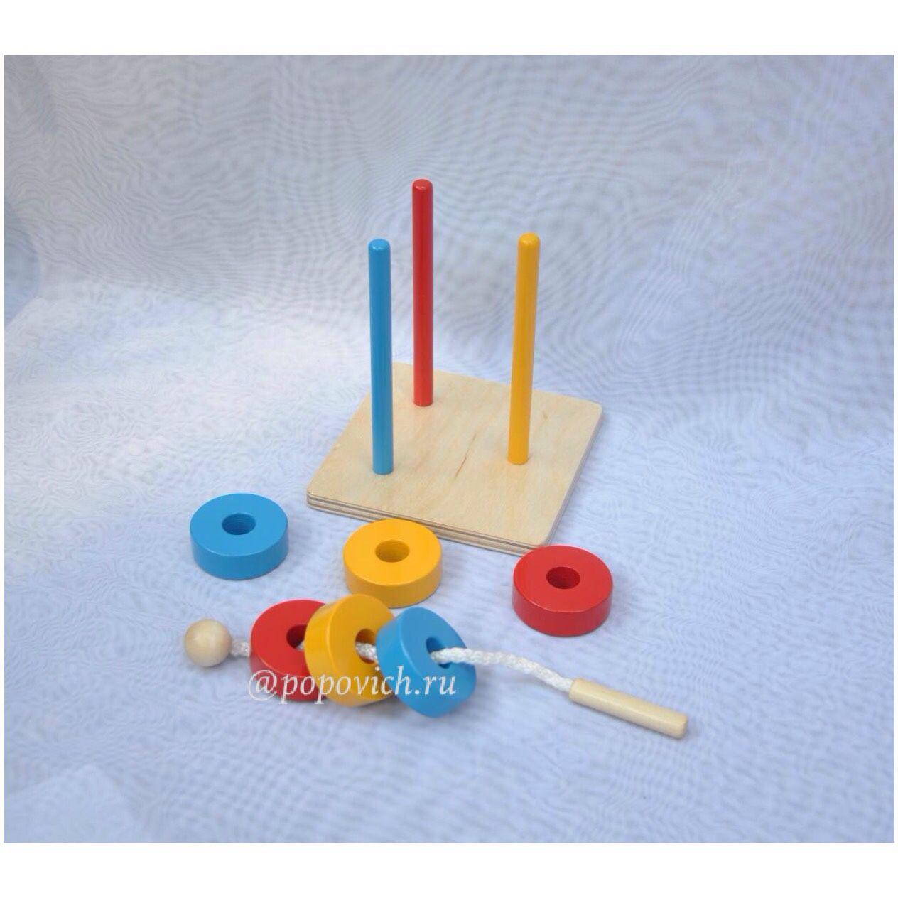 Educational toys Maria Montessori, Stuffed Toys, Cheboksary,  Фото №1