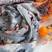 Аксессуары handmade. Livemaster - original item Exclusive stole made of Dolce Gabana fabric