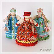 Куклы и игрушки ручной работы. Ярмарка Мастеров - ручная работа Девицы-красавицы. Handmade.