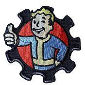 Аппликации ручной работы. Ярмарка Мастеров - ручная работа Нашивки Fallout, фолаут, Pip boy, пип бой. Handmade.