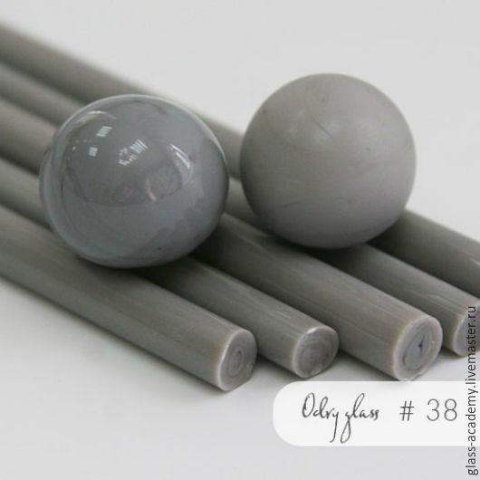 Для украшений ручной работы. Ярмарка Мастеров - ручная работа. Купить стекло #38 - Rock-lily (Сон-трава) для lampwork Odry glass coe 104. Handmade.